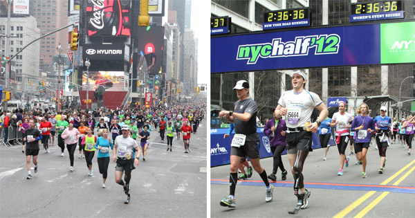 above knee amputee runs half marathon in nyc